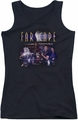 Farscape juniors tank top Flarescape black