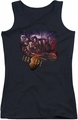 Farscape juniors tank top Graphic Collage black