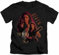 Farscape kids t-shirt Aeryn black