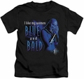 Farscape kids t-shirt Blue And Bald black