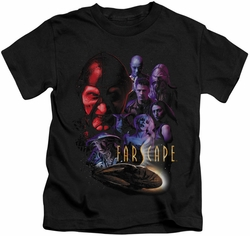 Farscape kids t-shirt Criminally Epic black