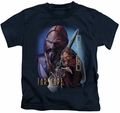 Farscape kids t-shirt D'Argo navy