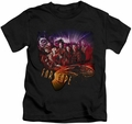 Farscape kids t-shirt Graphic Collage black
