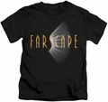 Farscape kids t-shirt Logo black