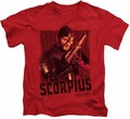 Farscape kids t-shirt Scorpius red