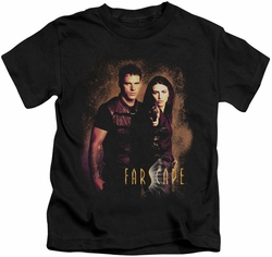 Farscape kids t-shirt Wanted black