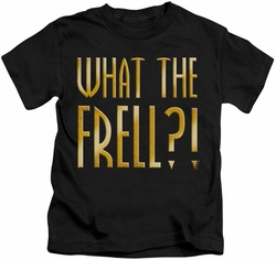 Farscape kids t-shirt What The Frell black