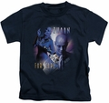 Farscape kids t-shirt Zhaan navy