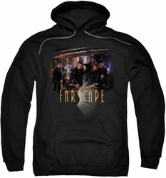 Farscape pull-over hoodie Cast adult black