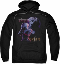 Farscape pull-over hoodie Chiana adult black