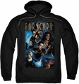 Farscape pull-over hoodie Comic Cover adult black