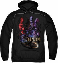 Farscape pull-over hoodie Criminally Epic adult black