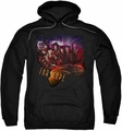 Farscape pull-over hoodie Graphic Collage adult black