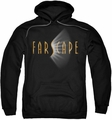 Farscape pull-over hoodie Logo adult black
