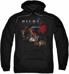 Farscape pull-over hoodie Pilot adult black