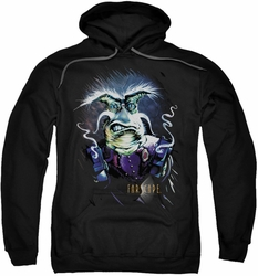Farscape pull-over hoodie Rygel Smoking Guns adult black