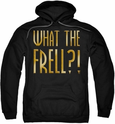 Farscape pull-over hoodie What The Frell adult black