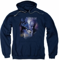 Farscape pull-over hoodie Zhaan adult navy