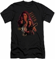 Farscape slim-fit t-shirt Aeryn mens black