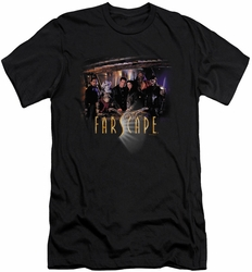 Farscape slim-fit t-shirt Cast mens black