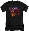 Farscape slim-fit t-shirt Graphic Collage mens black