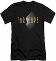 Farscape slim-fit t-shirt Logo mens black