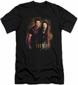 Farscape slim-fit t-shirt Wanted mens black