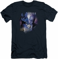 Farscape slim-fit t-shirt Zhaan mens navy