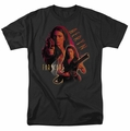 Farscape t-shirt Aeryn mens black