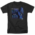 Farscape t-shirt Blue And Bald mens black