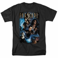 Farscape t-shirt Comic Cover mens black