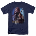 Farscape t-shirt D'Argo mens navy
