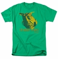 Farscape t-shirt Nobodys Puppet mens kelly green