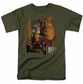 Farscape t-shirt Rygel mens military green