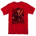 Farscape t-shirt Scorpius mens red