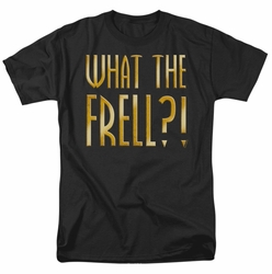Farscape t-shirt What The Frell mens black