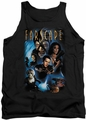 Farscape tank top Comic Cover mens black