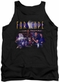Farscape tank top Flarescape mens black