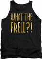 Farscape tank top What The Frell mens black