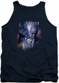 Farscape tank top Zhaan mens navy