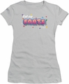 Farts Candy juniors t-shirt Eat My Farts silver