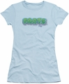 Farts Candy juniors t-shirt Logo light blue