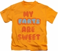 Farts Candy kids t-shirt Sweet Farts gold