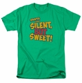 Farts Candy t-shirt Silent But Sweet mens kelly green