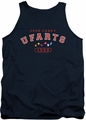Farts Candy tank top Fart University mens navy