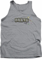 Farts Candy tank top Finger Logo mens athletic heather