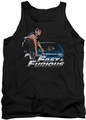 Fast And The Furious tank top Car Ride mens black