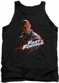 Fast And The Furious tank top Toretto mens black