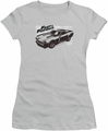 Fast & Furious juniors t-shirt Spray Car silver