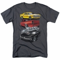 Fast & Furious t-shirt Muscle Car Splatter mens charcoal